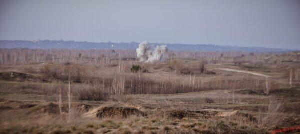 На Новомосковщині відбулись військові тактичні навчання